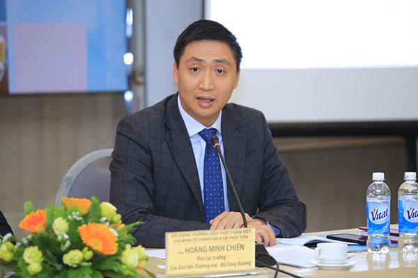 Ông Hoàng Minh Chiến - Phó cục trưởng Cục Xúc tiến thương mại. Ảnh: MOIT