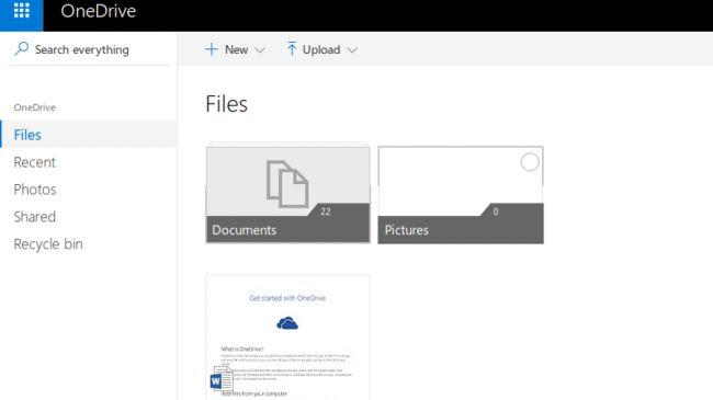 Dịch vụ lưu trữ OneDrive